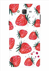 Noise Strawberries Printed Cover for Samsung Galaxy J2