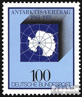 BRD (BR.Deutschland) 1117 (kompl.Ausgabe) postfrisch 1981 Antarktis-Vertrag (Briefmarken für Sammler)
