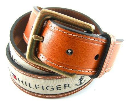 Tommy Hilfiger - Cintura - Uomo Khaki 110