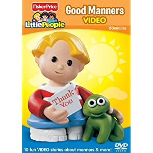 Fisher Price The Little People Good Manners Video movie
