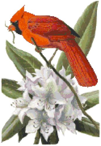 West Virginia State Symbol Counted Cross Stitch Pattern