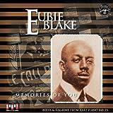 echange, troc Eubie Blake - Memories of You