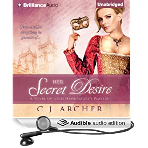 Her Secret Desire: A Novel of Lord Hawkesbury's Players, Book 1 (Unabridged)