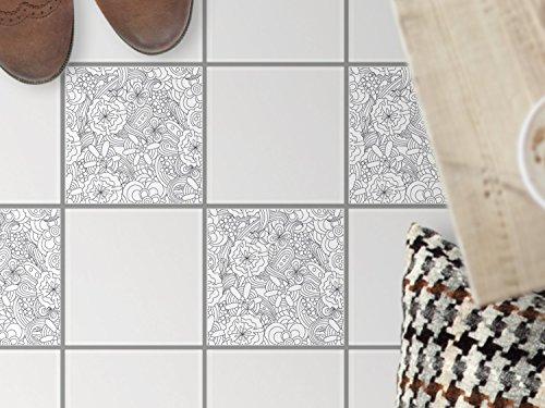 fussboden fliesen dekorativ deko fliesenaufkleber balkonfolie dekorfolie boden fu boden deko. Black Bedroom Furniture Sets. Home Design Ideas