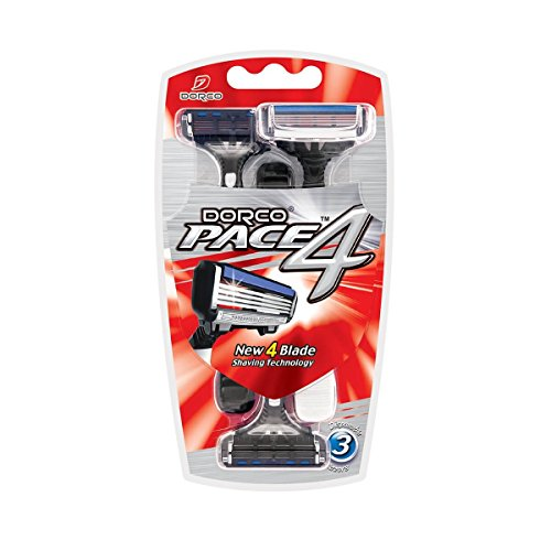dorco-pace-4-four-blade-technology-manual-disposable-razor-for-men-with-safety-sensitive-shaving-sys