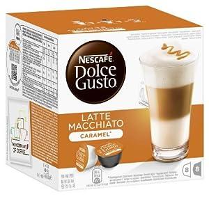 Nescafe Dolce Gusto Latte Macchiato Caramel, 169 g