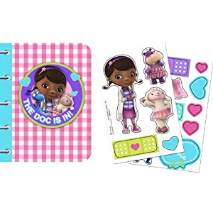 Disney Junior Doc McStuffins Sticker Notebooks (4)