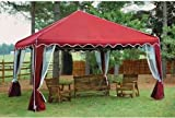 Pop Up Waterproof Gazebo Tent with Wind Bars and Leg Weight Bags Included