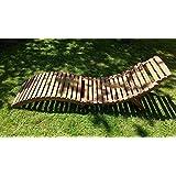 Sonnenliege / Gartenliege / Liegestuhl / Lounger - Zusammenklappbar - Aus Holz
