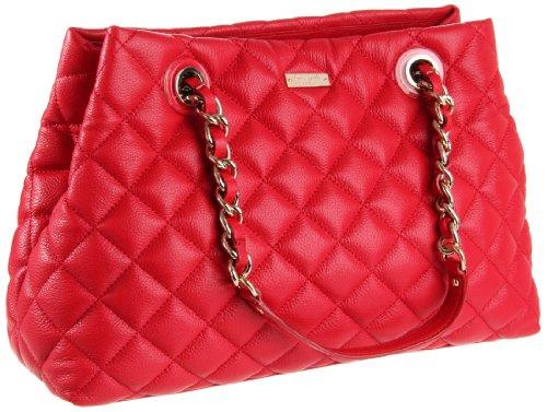 Kate Spade New York Women's Gold Coast Maryanne PXRU2294 Shoulder Bag,Scarlet,One Size