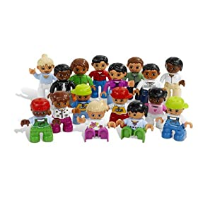 LEGO Education DUPLO World People Set 779222 (16 Pieces)