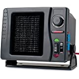 RoadPro RPSL-681 12V Direct Hook-Up Ceramic Heater/Fan with Swivel Base