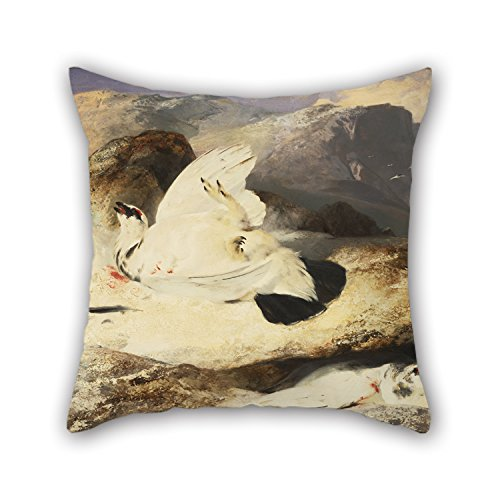 Slimmingpiggy 20 X 20 Inches / 50 By 50 Cm Oil Painting Sir Edwin Landseer, English - Ptarmigan In A Landscape Throw Cushion Covers ,double Sides Ornament And Gift To Saloon,office,boy Friend,dance (Jelly Dong With Suction Cup compare prices)