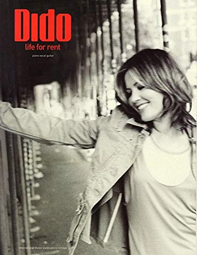 Dido -- Life for Rent: Piano/Vocal/Guitar (Rent Piano Sheet Music compare prices)