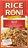 Rice A Roni Rice, Beef Flavor, 6.8 Ounce (Pack of 12)