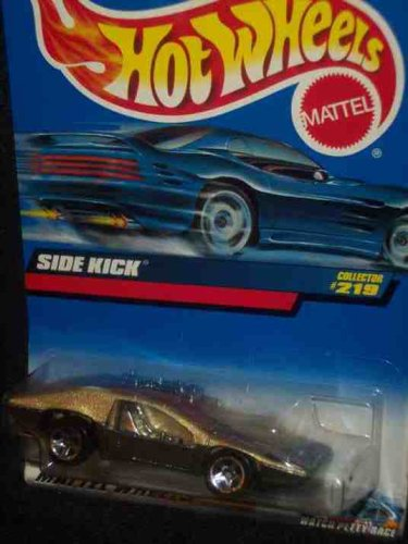 #2000-219 Side Kick Metal base Collectible Collector Car Mattel Hot Wheels 1:64 Scale
