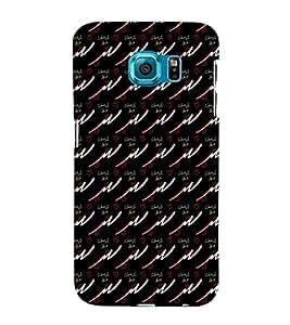 EPICCASE trendy waves Mobile Back Case Cover For Samsung Galaxy S6 Edge (Designer Case)