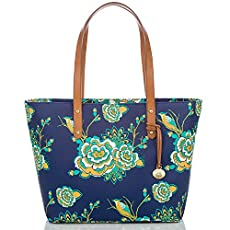 Medium All Day Tote<br>Navy Belize