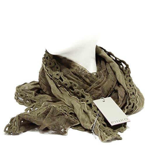 98133 foulard stola PINKO LINO COTONE sciarpa donna scarf women [UNICA]