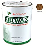 Briwax Wax Polish Original Tudor Oak 5 Litres