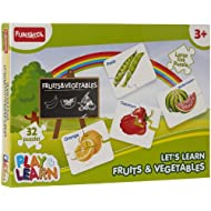 Funskool Fruits And Vegetables Puzzles