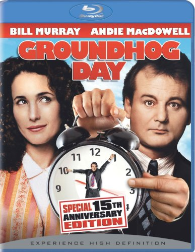 Cover art for  Groundhog Day (15th Anniversary Special Edition) [Blu-ray]