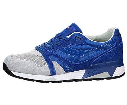 Diadora Mens N9000 NYL Blue/Grey Running Shoe - 10.5