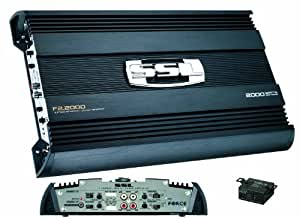 SSL F2.2000 FORCE 2000W, 2 Channel MOSFET Amplifier with Remote Subwoofer Level Control