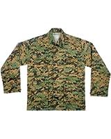 Mens Shirt - Military BDU, Woodland Digital Camo by Rothco