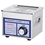 AW 1.3L(1/3 Gallon) Ultrasonic Cleaner 60W w/ Timer Jewelry...