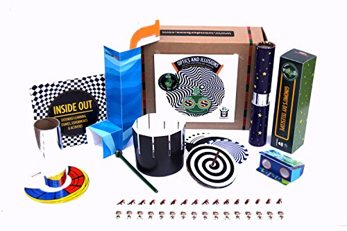 Learning Toys for Kids: WonderBoxx Optics and Illusions