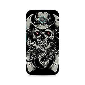 Ebby Skull Fear Premium Printed Case For Moto E2