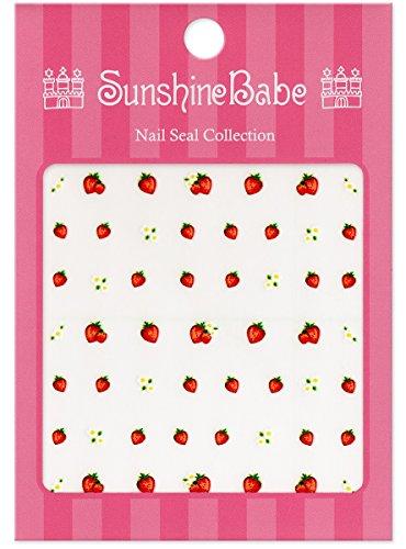 SunshineBabe ネイルシール ストロベリー