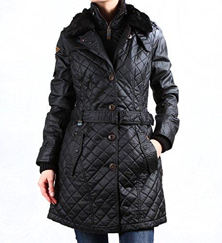 Khujo Damen Mantel Merve with inner Jacket