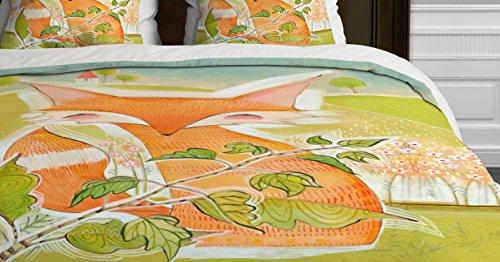 Deny Designs Cori Dantini Little Fox Duvet Cover, Twin front-577266