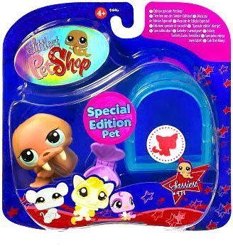 Littlest Pet Shop, Sassiest Pets, Walrus #997 with Igloo by Hasbro