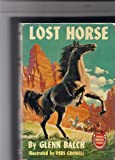 img - for lost horse book / textbook / text book