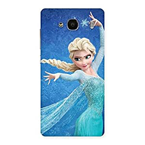 Special Premier Angel Princess Multicolor Back Case Cover for Redmi 2s