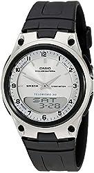 Casio Men's AW80-7AV World Time Databank 10-Year Battery Watch