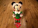 Minnie Mouse Dressed As Mrs. Santa Claus 10h Wooden Nutcracker