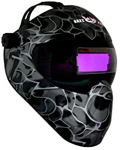 Save Phace Extreme Face Protector Auto-darkening Welding Helmet - Black Asp by SavePhace
