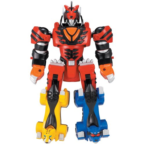 Power Rangers Jungle Fury Transforming Megazords