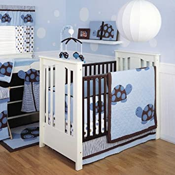 Ideal Mod Turtle Piece Baby Crib Bedding Set
