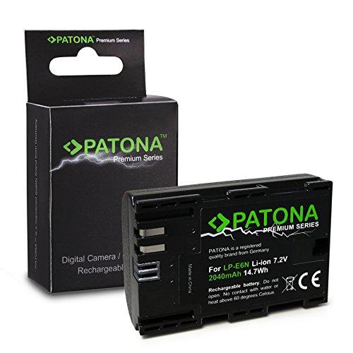 Batteria LP-E6 | LP-E6N per Canon EOS 5D | 5D Mark II | 5D Mark III | 5DS | 5DS R | 60D | 60Da | 6D | 70D | 7D | 7D | 7D Mark II | 80D | Mark II | Mark III | R 5D | XC10