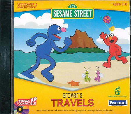 SESAME STREET: GROVERS TRAVELS