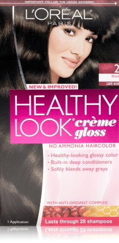L'Oreal Paris Healthy Look, 2 Black/Cafe Noir