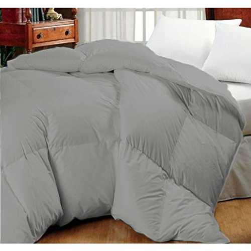 Oversized High Quality Goose Down Alternative Comforter - Fits Pillow Top Beds - Allergy Free! (Queen 92