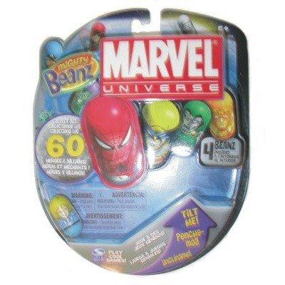 Marvel Mighty Beanz 2010 Random 4 pack - 1