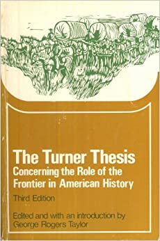 george rogers taylor turner thesis