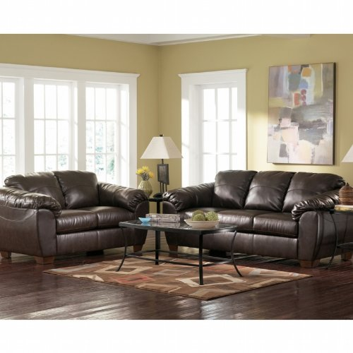 Buy Low Price AtHomeMart Cafe Sofa, Loveseat, Chair, and Ottoman Set (ASLY9880038_9880035_9880020_9880014_4PC)